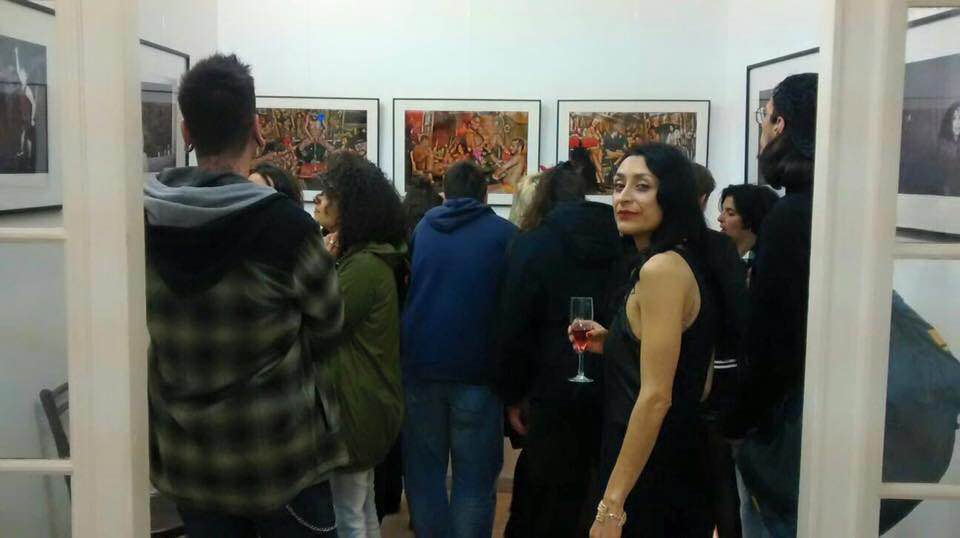 Tea Guarascio expo Fousion Gallery