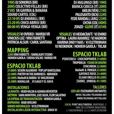 line up Visual Brasil 2019