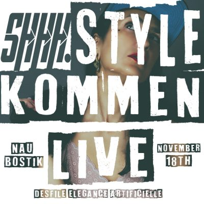flyer shhh.style live nau bostik